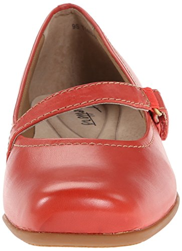 Red Mary Flat Women's Trotters Jane Simmy w6qXUnES4