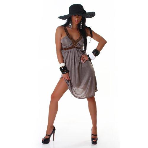 Bella Halter Dress (Voyelle's Women's Halter Dress One Size)
