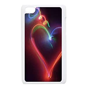 ipod touch 4 phone cases White Heart Pattern cell phone cases Beautiful gifts YWTS0428179
