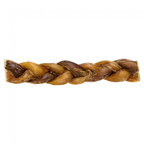 Redbarn 7-Inch Braided Bully Sticks 1-Pack Of 3 2 Oz