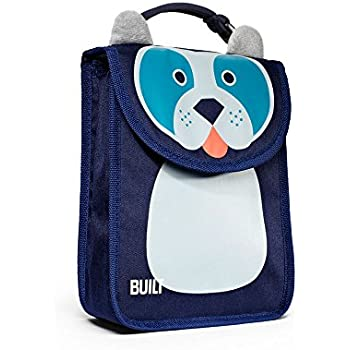 BUILT NY Big Apple Buddies Insulated Lunch Sack, Delancey Doggie