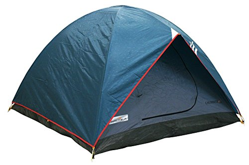 NTK Cherokee GT 5 to 6 Person 9.8 by 9.8 Foot Outdoor Dome Family Camping Tent 100% Waterproof 2500mm, Easy Assembly, Durable Fabric Full Coverage Rainfly – Micro Mosquito Mesh for Maximum Comfort.