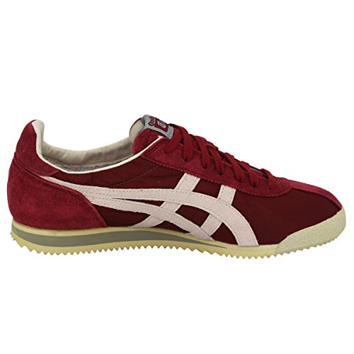 Asics TIGER CORSAIR Bordeau Unisex Sneakers Schuhe Neu