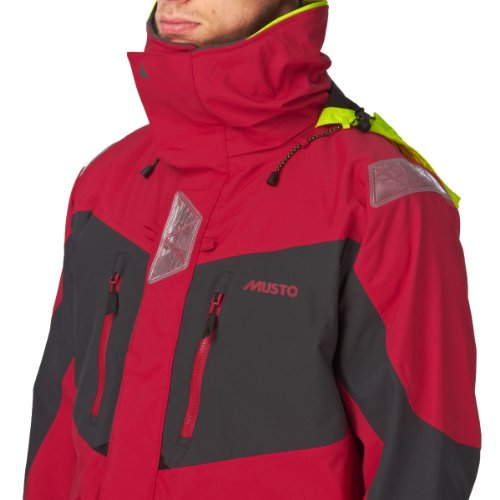 Musto BR2 Offshore Jacket Red/Dark Grey SB0033