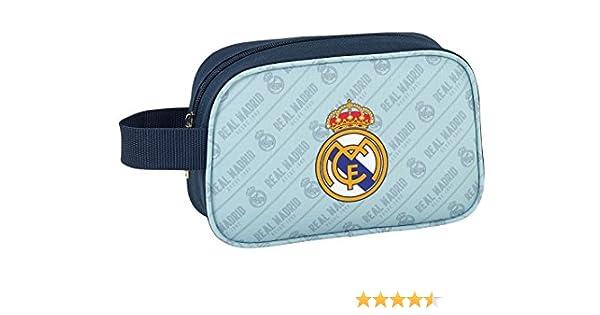 Safta Neceser Real Madrid Corporativa Oficial Pequeño 220x80x135mm: Amazon.es: Ropa y accesorios