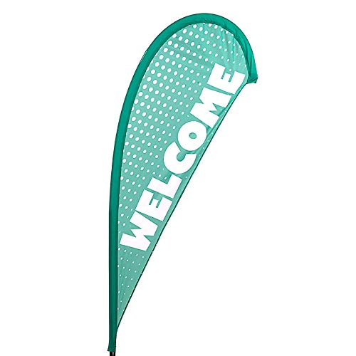Welcome Flying Banner (Flag Only) - in The Wild VBS by LifeWay]()