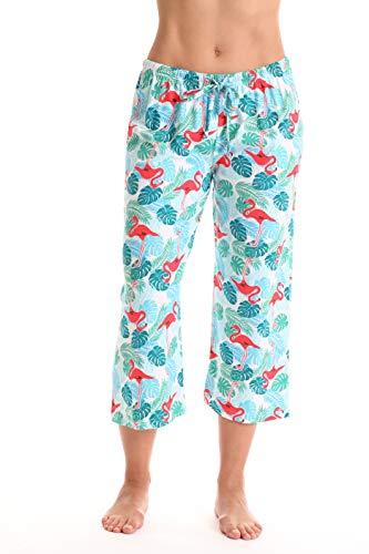 Bottoms Pajama Capri - Just Love Womens Pajamas Cotton Capri Pants 6331-10385-3X