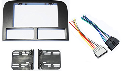 1999 Bezel - Jeep Grand Cherokee 1999-2001 Double Din Aftermarket Radio Stereo Navigation Bezel Installation Dash Kit