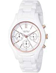Caravelle New York Womens 45L144 Ceramic Watch