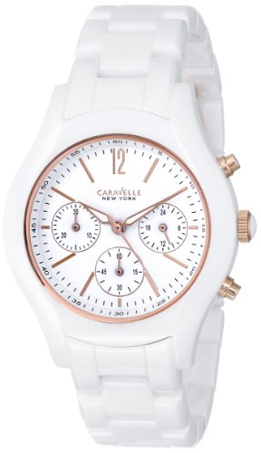 Caravelle New York Women's 45L144 Ceramic Watch by Caravelle New York