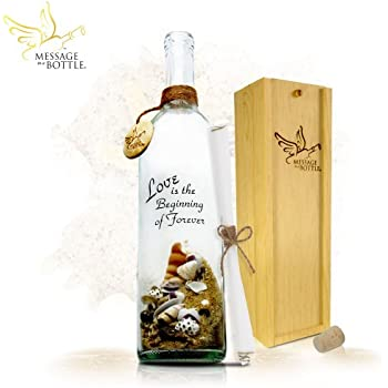 "Message In A Bottle ® ""PROMISE"" Personalized Gift for Him or Her"