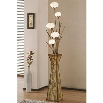 mulberry rice paper ball handmade flower pot design art. Black Bedroom Furniture Sets. Home Design Ideas
