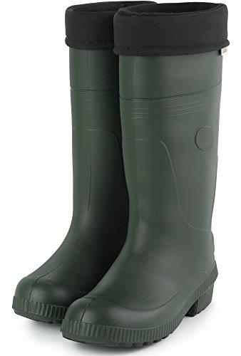 Agua de Hombre Oliva Ligeras Seguridad Botas Zapatos Forradas Ladeheid TRC Termo PA18004 de waZEn