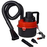 Wet & Dry Canister Car Vacuum Cleaner 12V Black Red
