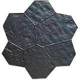 BonWay 32-622 28-Inch by 29-Inch Random Stone E-Pro Mat, Standard Mat B