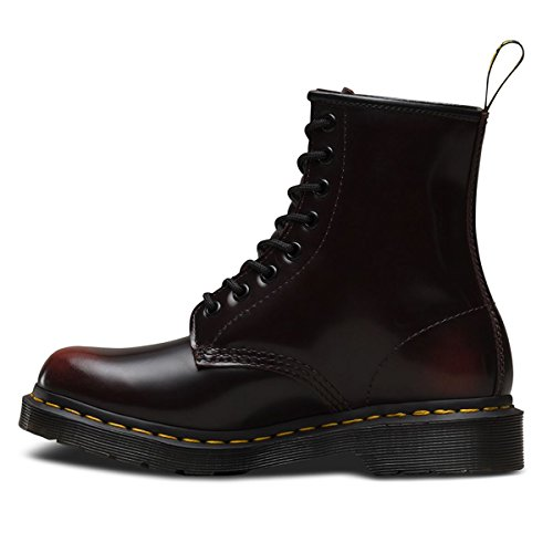 Dr. Martens Womens 1460 W 8 Botte Oculaire Rouge