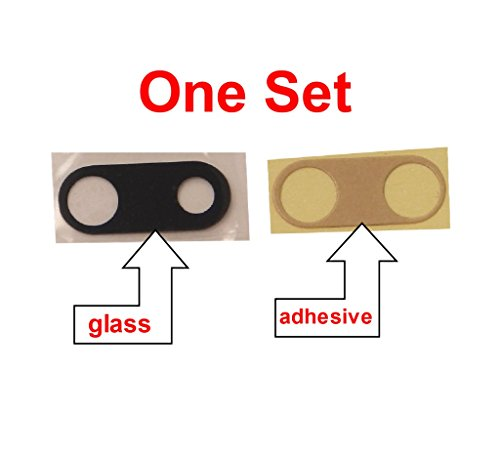 Image of PHONSUN Back Camera Lens Rear Glass Cover Replacement w Adhesive
