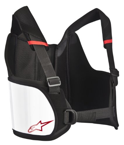 Alpinestars (6537013-12-S/L Black/White Small/Large Bionic Rib Protector ()