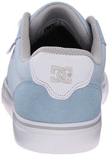 DC Womens Anvil Skate Shoe, Light Blue, 5 M US