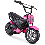 Mongoose 24V Mini Bike, Pink, 250-watt chain driven motor