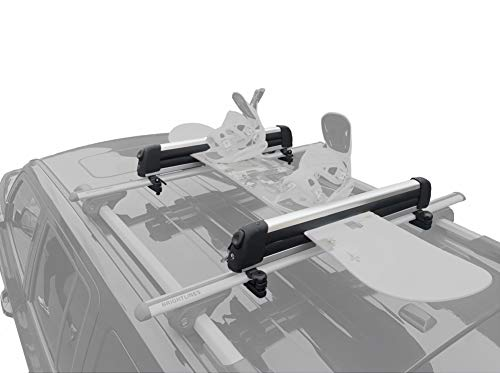 BRIGHTLINES Ski Snowboard Racks Carriers Hold up to 6 Pair Skis or 4 Snowboards