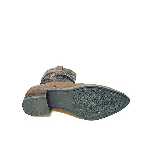 Ergos - Caña baja Unisex adulto , color Blanco, talla 41