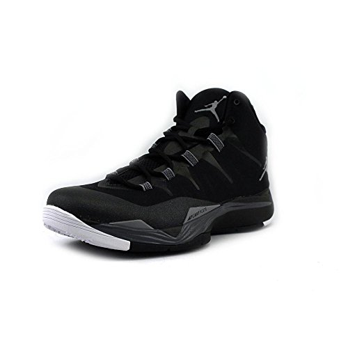 Nike Men's Jordan Super.Fly 2 Black/Cmnt Grey/Drk Gry/White Basketball Shoes 8 Men US