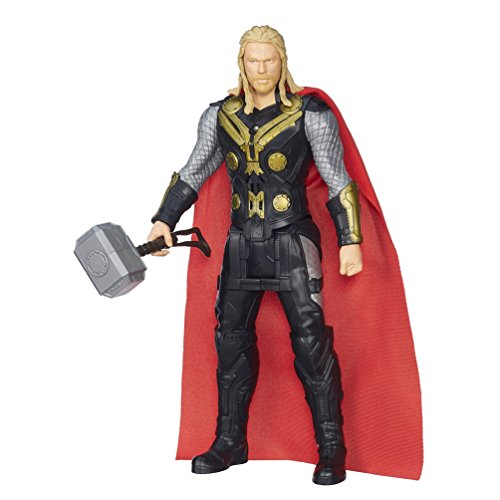 Marvel Avengers Age of Ultron Titan Hero Tech Thor 12 Inch Figure(Discontinued by manufacturer) (Avengers Age Of Ultron Titan Hero Tech)