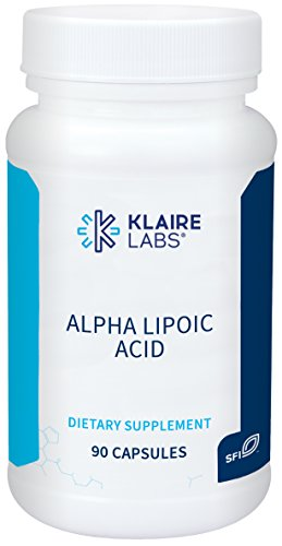 - Klaire Labs Alpha-Lipoic Acid 500 mg - Hypoallergenic ALA Supplement, Antioxidant & Liver Support (90 Capsules)