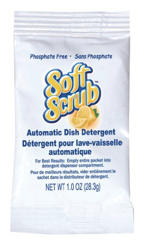 Soft Scrub Automatic Dish Detergent, 1oz Pouch (Pack of 200) (Best Automatic Dishwasher Detergent For Soft Water)