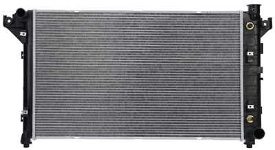 Prime Choice Auto Parts RK618 New Complete Aluminum Radiator 01 Dodge Ram Radiator
