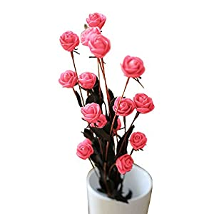 15 Heads Artificial Spring Silk Flowers Camellia Magnolia Floral Wedding Peony Arrangement Bouquet Hydrangea (5 Pcs) 13