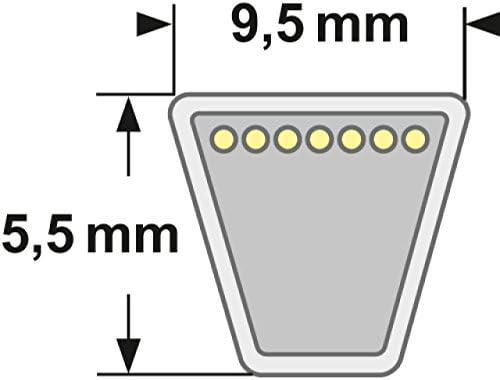 /Esterno lunghezza 736.6/mm COPPIA CINGHIE 3L/ /290/