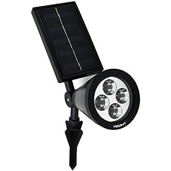 Hoont Bright Outdoor Led Solar Spotlight Amazon Com