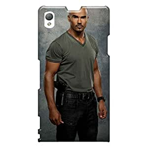 Sony Xperia Z1 FME1041sSyV Support Personal Customs Nice Shemar Moore Celebrity Skin Great Hard Cell-phone Cases -casesbest88
