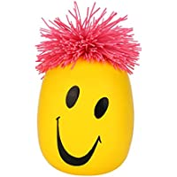 DORIC Stress Reliever Super Stretchy Moody Face Stress Ball Smile Face Squeeze Toy Time Killing Toy