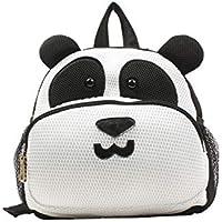 Mochila Cící Panda Preto e Branco