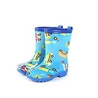 DUANGUOYAN Rain Boots- Rain Boots Men and Women Cute Children