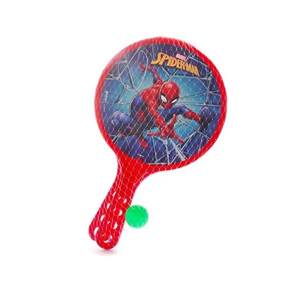 Racchettoni Spider-Man (cm 37x24) in plastica 2 spesavip