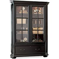 Allegro Sliding Door Bookcase Cabinet