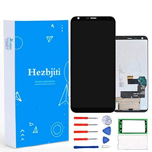 (Hezbjiti LCD Display Touch Screen Replacement Digitizer Assembly Compatible for LG Q7 Q7+ Q610 Q720 Q720L Q720S Q720K / Q7A Q7 Alpha LMQ610FS / Q7 Plus Q725 Q725L Q725K Q725S Q610MA Q610TA LMQ610NA)
