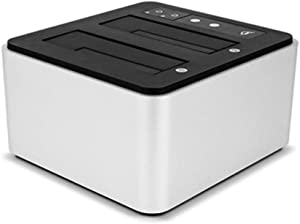 OWC Drive Dock USB-C Dual Drive Bay Solution, USB 3.1 Gen 2, for Mac and PC, (OWCTCDRVDCK)