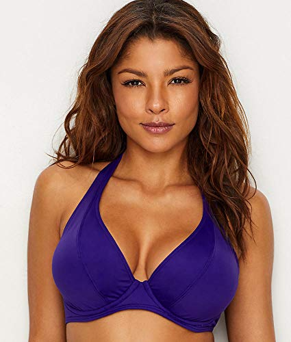 Sunsets Women's Muse Bra Sized Bikini Top Swimsuit with Underwire, Sapphire, ()