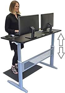 Amazon Com Tranzendesk Standing Desk 55 Inch Long