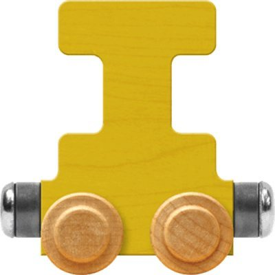 - NameTrain Bright Letter Car I - Made in USA (Yellow)