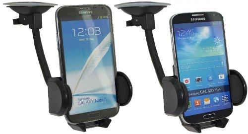 Case GRATIS KFZ LADEKABEL H/ülle Halter Autohalterung // geeignet auch mit Bumper Tasche Fairphone 2 // Universal KFZ PKW Auto Halterung // 360/° drehbar