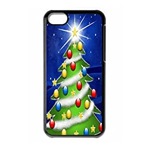 Lovely Christmas Tree for iPhone 5c hard back cover