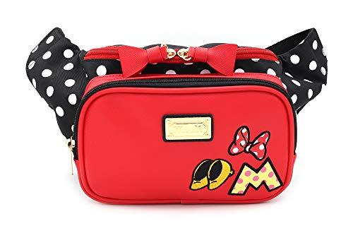 Minnie Fashion Pretty Hip Sack Waist Pack Fanny Bag for Women Lady Girl Teens