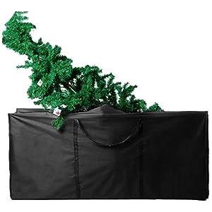 RRigo Bolsa de almacenamiento para muebles de jardín, impermeable, ligera, acolchada, color negro (S: 116 x 47 x 51 cm)