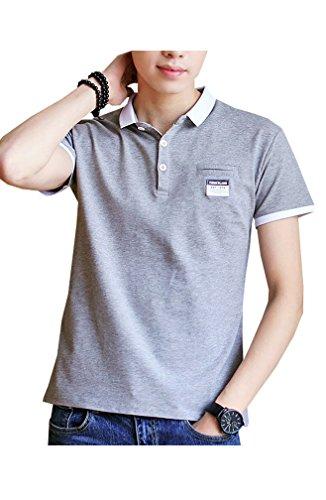 ポロシャツ 半袖 メンズ テニスウェア ゴルフウェア スポーツウェ 春夏季対応トップス TX1718